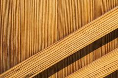 Wood plank wall background - stock photo