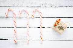 Sweets and gift - stock photo