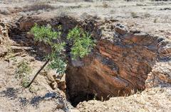 Wondergat Sinkhole - Namibia Stock Photos