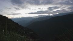 Alishan mountain sunrise Stock Footage