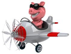 Stock Illustration of Fun pig
