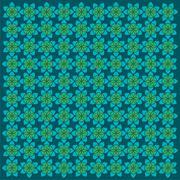 Retro flora pattern background vector Stock Illustration