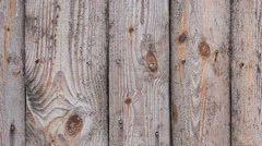 Real Old Wood Texture of Old Fence With Nails in It - stock footage