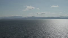 Looking from Dingle towards the ring of Kerry. Stock Footage