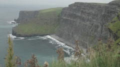 Cliffs of Moher, Ireland Stock Footage