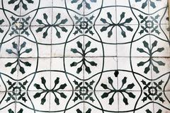 Detail of the traditional tiles background. Stock Photos