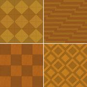 Stock Illustration of Seamless background, wooden parquet