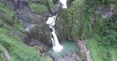 Nature Waterfall Stock Footage
