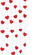 happy valentine day greeting background vector - stock illustration