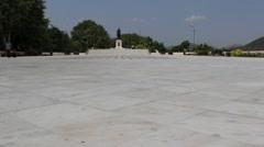 Maharana Pratap Memorial, Udaipur, Rajasthan Stock Footage