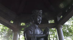 Statue of Buddha Stock Footage