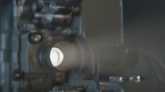 Stock Video Footage of Cine Projector