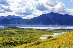 Wrangell-St.Elias NP Stock Photos