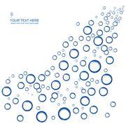 Vector soap bubble Stock Illustration