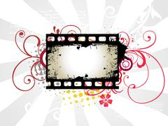 Stock Illustration of Photo reel vector art