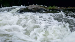 mountain river rapids - stock footage