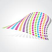Abstract artistic design Stock Illustration