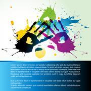 hand vector - stock illustration