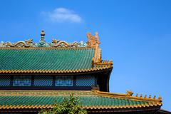 Stock Photo of Traditional Ancient Historical Chinese House