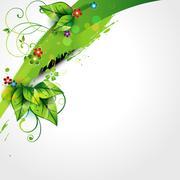 nature background - stock illustration