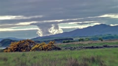 Stock Video Footage of Amazing clouds time lapse of scottish landscape