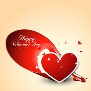 Stock Illustration of stylish heart design