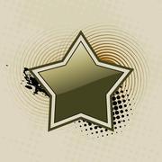 beautiful star vector art - stock illustration
