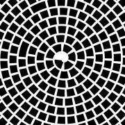 Stock Illustration of Black Spiral Background