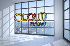 Stock Photo of Composite image of cloud computing