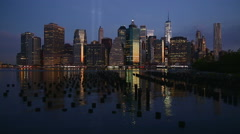 New York City September 11 Stock Footage