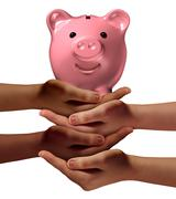 Stock Illustration of Community Savings