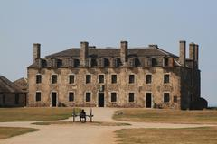 US National Historic Landmark - Old Niagara Fort - stock photo