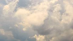 Dense clouds of. Krasnaya Polyana. Time Lapse. Sochi, Russia. 1280x720 - stock footage