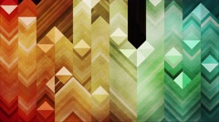 Colorful mosaic abstract background animation. Tilting. 4K resolution Stock Footage