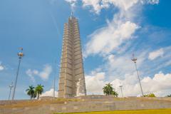 Stock Photo of Plaza de la Revolucion in Havana, Cuba