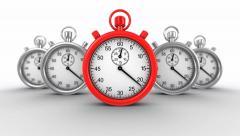 Deadline Animation - stock footage