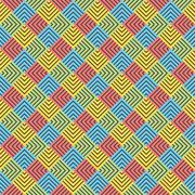 Creative square strip pattern background Stock Illustration