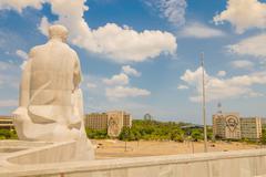 The Revolution Square or Plaza de la Revolucion in Havana, Cuba - stock photo