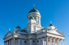 Stock Photo of Tuomiokirkko, the Finnish Evangelical Lutheran cathedral