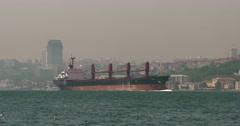 Bosphorus of Istanbul Stock Footage