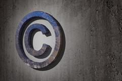 copyright symbol - stock illustration
