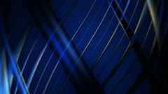 Blue helix lines Stock Footage