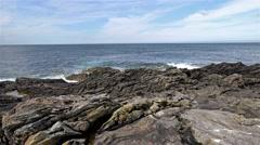 Fraserburgh coast Stock Footage
