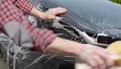 Car Care Stock Footage