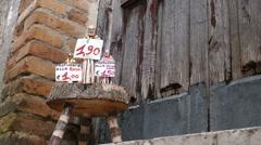 Pietrelcina - Saint Pio - Souvenir Stock Footage