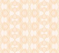 Seamless ornaments beige - stock illustration