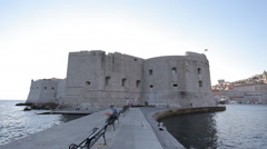 The old city of Dubrovnik, Stock Footage