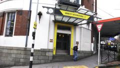 Amnesty International Headquarter in Auckland, New Zealand Stock Footage