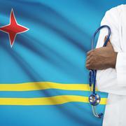 Concept of national healthcare system - Aruba Stock Photos