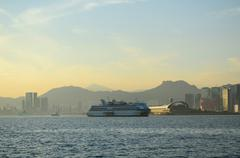 Kai Tak Cruise Terminal - stock photo